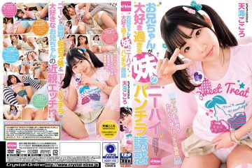 EKDV-537 My Sister's Older Brother I Love Too Much Knee High Panchira Temptation Amami Heart