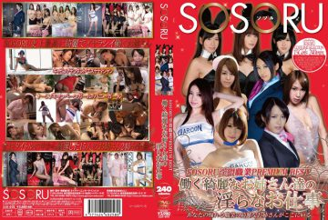 SSR-075 SOSORU Dirty Indecent Jobs Beautiful Older Sister Who Work Profession PREMIUM BEST