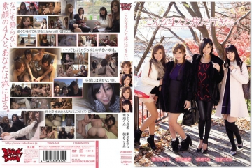 ZUKO-049 Amber Uta HarukaNozomi Sato Ayumu Sena Kotomi Asakura You Want To Go On A Journey With This Four